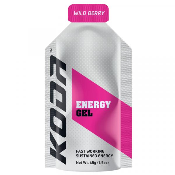 Koda Nutrition Energy Gels (8 Flavours) | KODA_Wildberry_800x