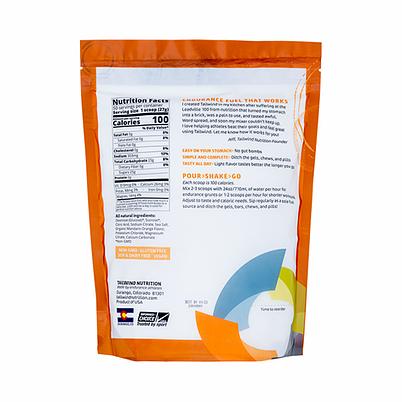 Tailwind Nutrition Endurance Fuel Drink - 50 Servings (8 Flavours) | Mandarin Large Back