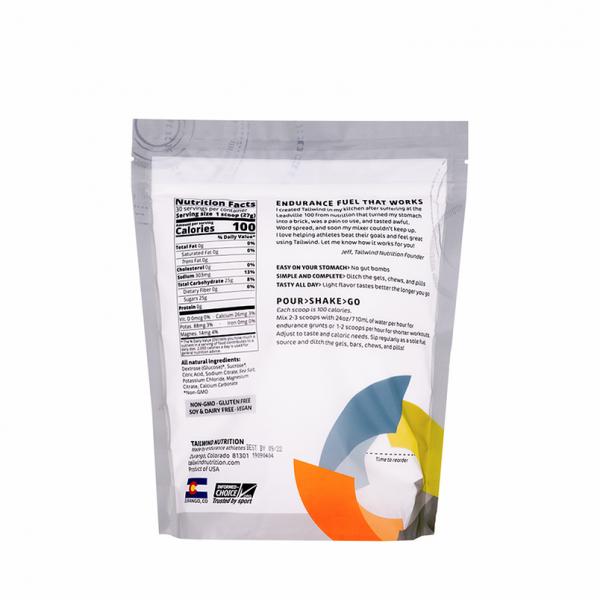 Tailwind Nutrition Endurance Fuel Drink - 30 Servings (8 Flavours) | Naked Medium Back