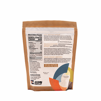 Tailwind Rebuild Recovery Drink (3 Flavours)   Rebuild Medium Coffee Back