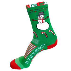 Steigen Three Quarter Length Running Socks (10 Colours) | Snowman