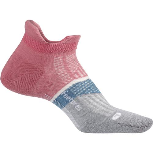 Feetures Elite Light Cushion No Show Tab (3 Colours) | heather