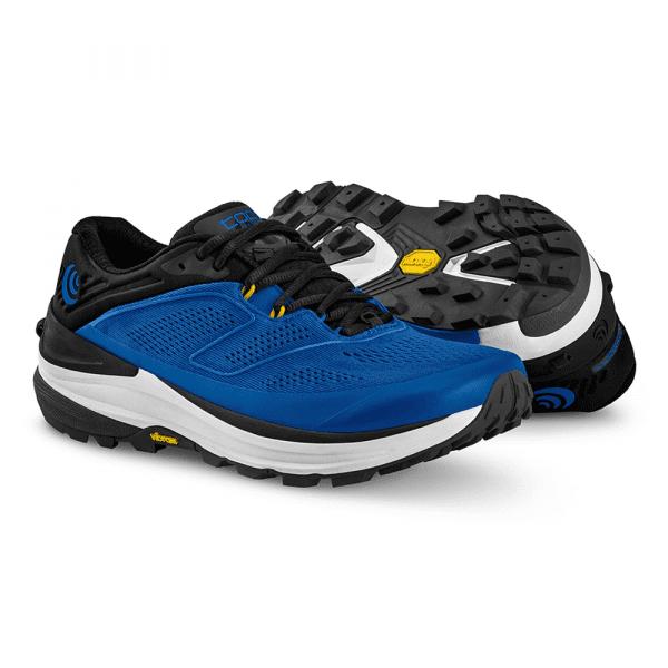Topo Ultraventure 2 Mens Trail Running Shoes (Blue/Grey) | BlueGrey1_2048x