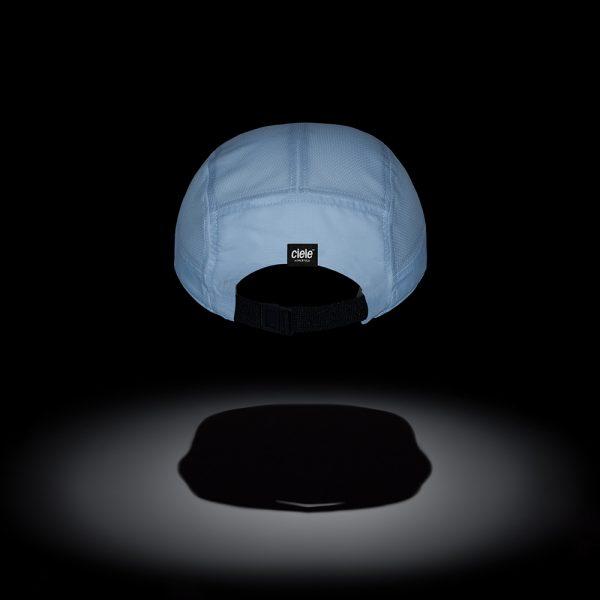 Ciele GO Cap – Athletics – Ghost | GOCap_Standard_Athletics_D1CLGCSA_WH001_BK_N_G_LR