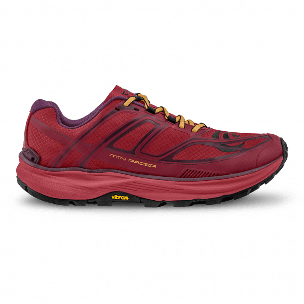 Topo Mountain Racer Womens Shoes (Berry/Gold) | W033.Berry-Gold_02-300dpiRGB_2048x