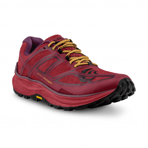 Topo Ultraventure 2 Womens Trail Running Shoes (Berry/Gold) | W033.Berry-Gold_05-300dpiRGB_2048x