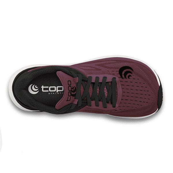 Topo Ultrafly 3 Womens Road Running Shoes (Wine/Black) | W038.Wine-Black_02_2048x