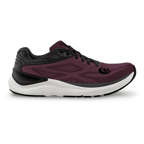 Topo Ultrafly 3 Womens Road Running Shoes (Wine/Black) | W038.Wine-Black_04_2048x
