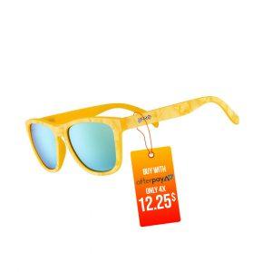 Goodr OG Running Sunglasses - Citrine Mimosa Dream | CitrineMimosaDreamSide_1000x