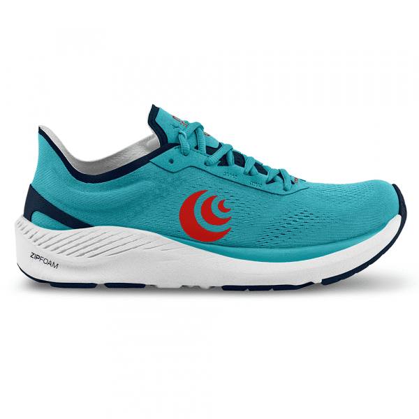 Topo Athletic Cyclone Mens Road Running Shoes   CyanRed1_2048x