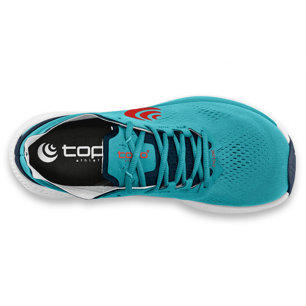 Topo Athletic Cyclone Mens Road Running Shoes   CyanRed4_2048x