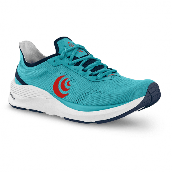 Topo Athletic Cyclone Mens Road Running Shoes   CyanRed6_2048x
