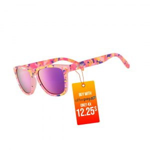 Goodr OG Running Sunglasses - Flamingo-ite Aura Right | Flamingo-iteAuraRightSide_1000x