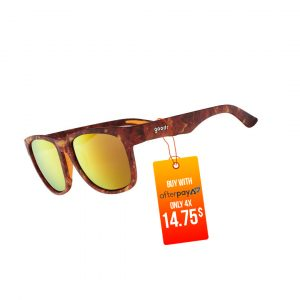 Goodr BFG Running Sunglasses - Tiger's Eye Gazing | TigersEyeGlazingSide_1000x