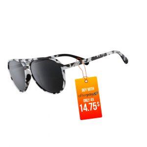 Goodr Mach Gs Aviator Running Sunglasses – Granite, I Didn't Ground Today | Granite_IDidn_tGroundTodaySide_1000x