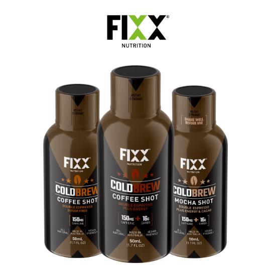 Fixx Nutrition Cold Brew Coffee Shot 50ml | 10