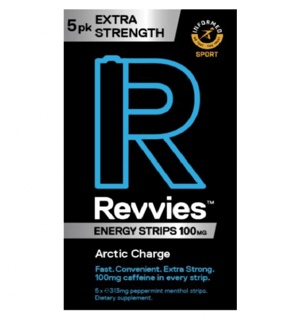 Revvies Energy Strips - Extra Strength Arctic Charge 100mg | Untitled