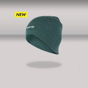 """Fractel Merino Beanie """"Forest"""" Edition   Running Beanies for Cold weather"""