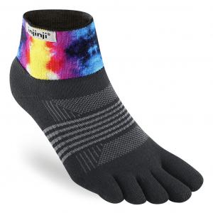 Injinji Spectrum Trail Womens Midweight Mini-Crew Running Socks (2 Colours) | 213431Wavy_2048x