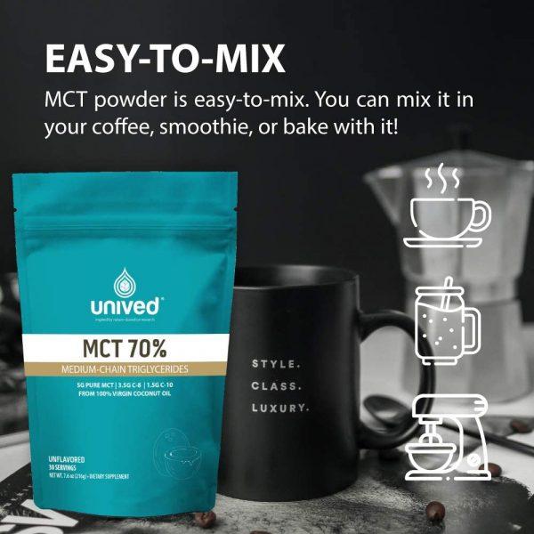 Unived 70% MCT Oil Powder (30 Serve Pouch)   6173mTvJc8L._AC_SL1000_