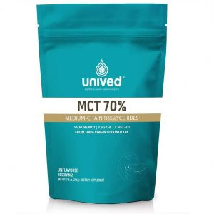 Unived 70% MCT Oil Powder (30 Serve Pouch)   MCT