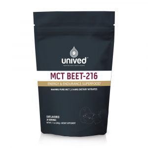 Unived MCT Beet-216 (20 Serve Pouch)   OC-Unived-MCT-Beet-Front
