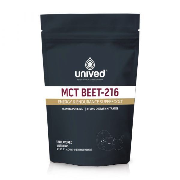 Unived MCT Beet-216 (20 Serve Pouch) | OC-Unived-MCT-Beet-Front