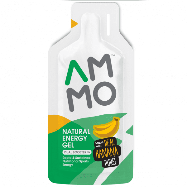 AMMO Natural Energy Gel (3 Flavours)   Banana