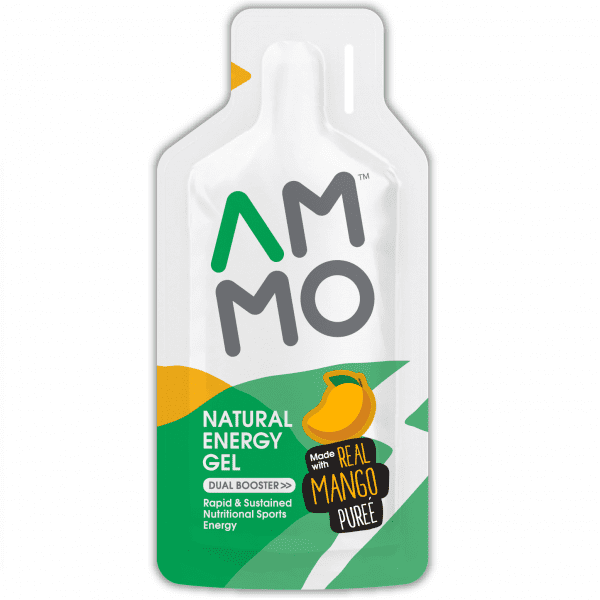 AMMO Natural Energy Gel (3 Flavours)   Mango