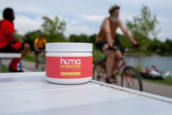 Hüma Natural Electrolyte Hydration Drink Mix (Raspberry Lemonade) | HumaGel_July2020-120