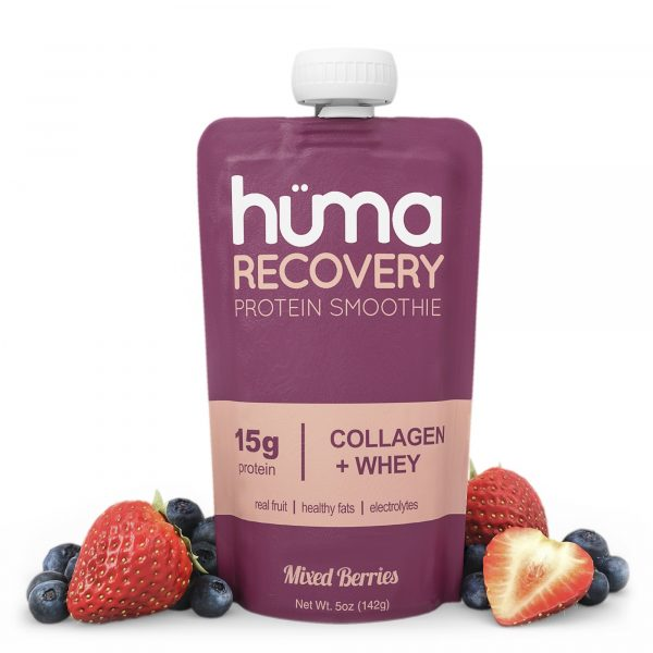 Hüma Natural Collagen Recovery Smoothie (Mixed Berries) | Huma_Fruit_v2